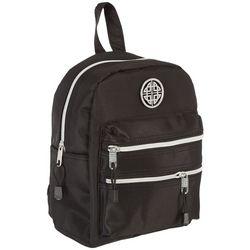 Stone Mountain Nylon Double Zip Dome Mini Backpack