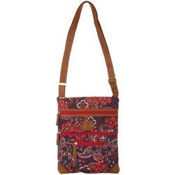 Stone Mountain Paisley Lockport Crossbody Handbag