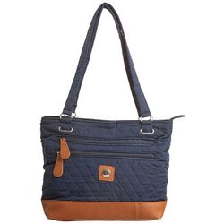 Stone Mountain Quilted Tote Handbag