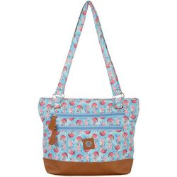 Pineapple Quilted Donna Tote Handbag