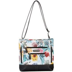 Stone Mountain Floral Super Crossbody Handbag