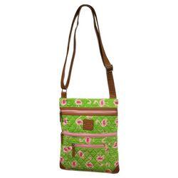 Stone Mountain Pink Flamingo Crossbody Handbag