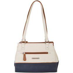 Dade Colorblock Satchel Handbag