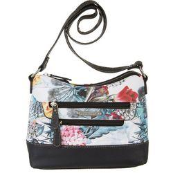 Stone Mountain Irene Floral Print Hobo Handbag