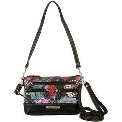 Stone Mountain 4 Bagger Floral Print Crossbody Handbag