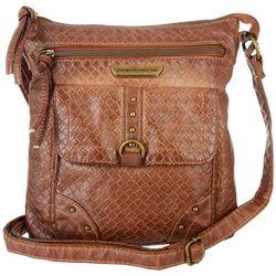 Stone Mountain Smoky Mountain Woven Crossbody Handbag