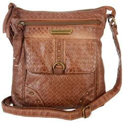 Smoky Mountain Woven Crossbody Handbag