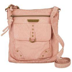Smoky Mountain Front Zip Crossbody Handbag