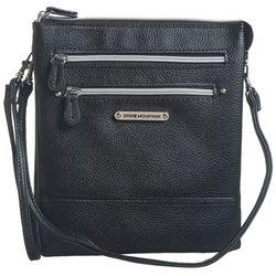 Solid Pebble Crossbody Handbag