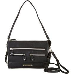 Stone Mountain Leather Pebble East West Superfecta Handbag