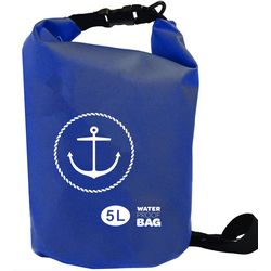Nupouch 5L Anchor Print Waterproof Dry Bag