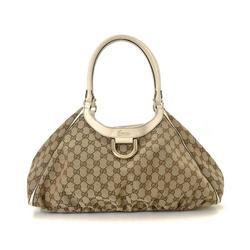 Vintage Gucci GG D-Gold Handbag