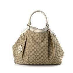 Vintage Gucci GG Sukey Tote Bag