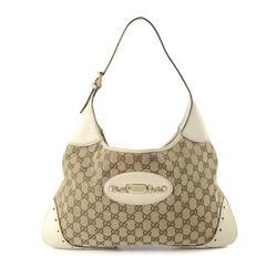 Vintage Gucci GG Punch Handbag
