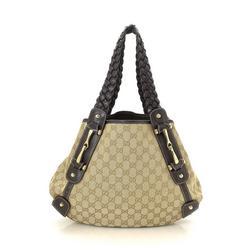 Vintage Gucci GG Pelham Tote Bag
