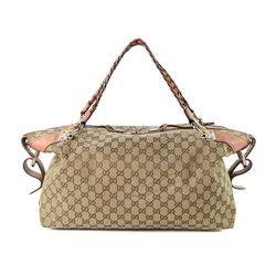 Vintage Gucci GG Bamboo Bar Shoulder Bag