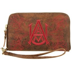 Gameday Boots Alabama A&M Bulldogs Wristlet