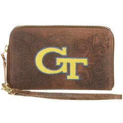 Gameday Boots GT Yellow Jackets Wristlet