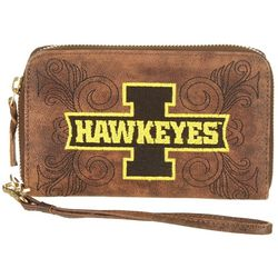 Gameday Boots Iowa Hawkeyes Wristlet