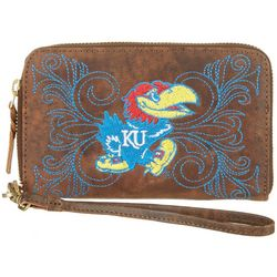 Gameday Boots Kansas Jayhawks Wristlet