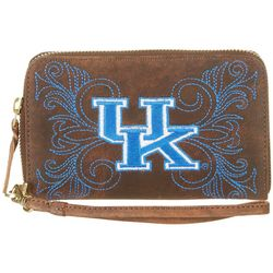 Gameday Boots  Kentucky Wildcats Wristlet