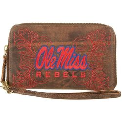 Gameday Boots Ole Miss Rebels Wristlet