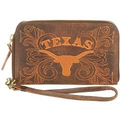 Gameday Boots Texas Longhorns Wristlet
