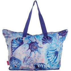 Leoma Lovegrove Beachcombers Seashell Beach Bag Tote