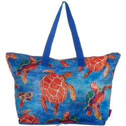 Leoma Lovegrove Sea Turtle Beach Bag Tote
