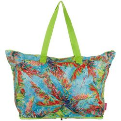 Leoma Lovegrove Palms Away Beach Bag Tote