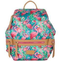 Leoma Lovegrove Soiree Flamingo Backpack