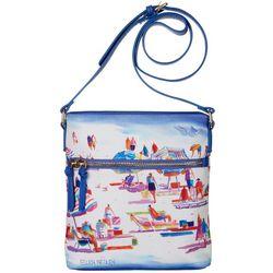 Ellen Negley Sand & Surf Crossbody Handbag