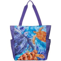 Amber Moran Florida Sea Turtles Beach Bag Tote
