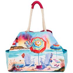 Ellen Negley Island Dreaming Gap Beach Bag Tote