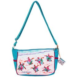 Ellen Negley Race Ya Crossbody Handbag