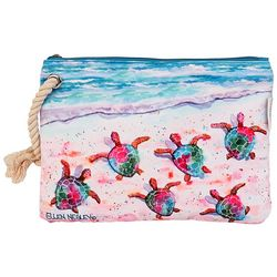 Ellen Negley Race Ya Cosmetic Bag