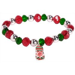Brighten the Season Holiday Flip Flop Charm Bracelet