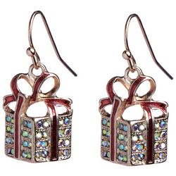 Brighten the Season Holiday Presents Earrings