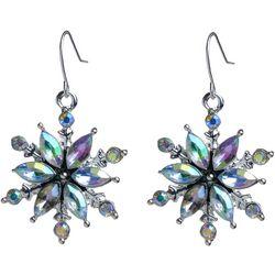 Brighten the Season Holiday Snowflake Earrings