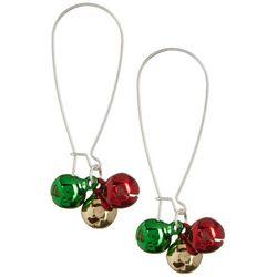 Brighten the Season Jingle Bell Wire Earrings