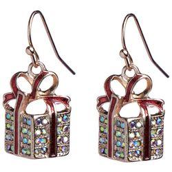 Brighten the Season Holiday Presents Earrings