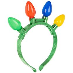 Light Up Holiday Bulb Headband