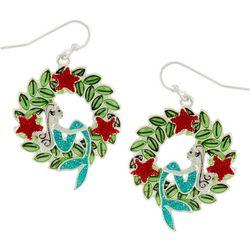 Brighten the Season Mermaid & Garland Earrings