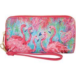 Leoma Lovegrove Pink Power Wallet