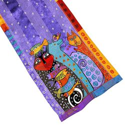 Laurel Burch Womens Dream Believers Scarf