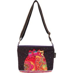 Laurel Burch Festive Felines Gap Tote Handbag