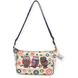 Paul Brent Groovy Owl Medium Crossbody Handbag
