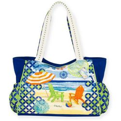 Paul Brent Geo Beach Bag Tote