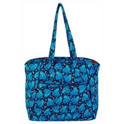 Laurel Burch Indigo Cats Tote Handbag