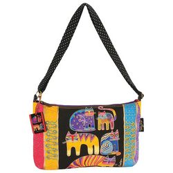 Laurel Burch Fantastic Feline Shoulder Handbag